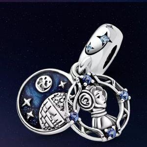 925 Sterling Silver Princess Leia Charm